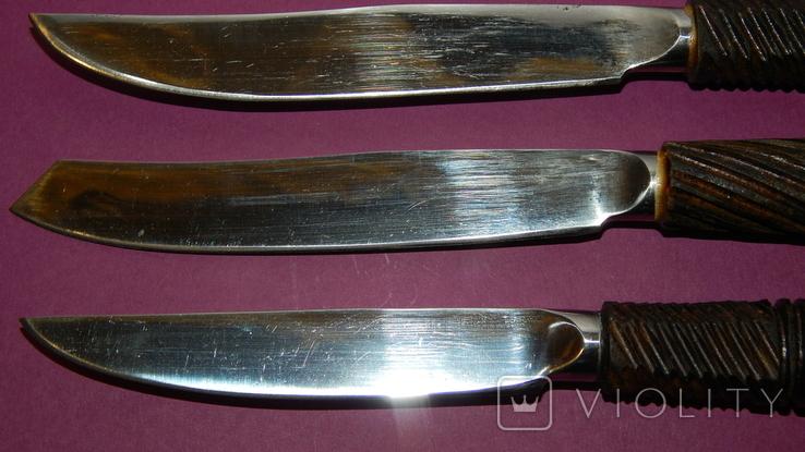 Столовый набор ножей ручной работы, фото №4