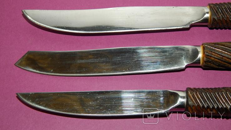 Столовый набор ножей ручной работы, фото №5