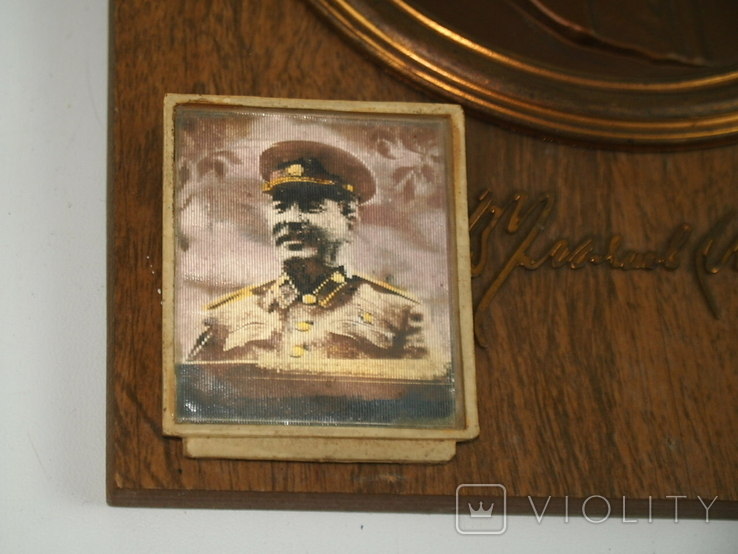 Картина Барельеф Портрет Сувенир Ленин Сталин, фото №8