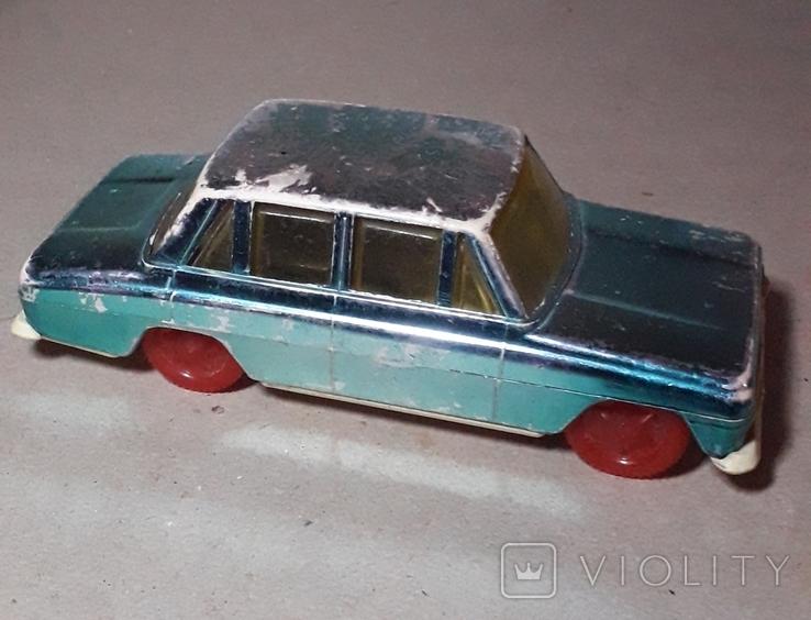 Москвич машинка инерционная 60-70-е СССР, фото №2