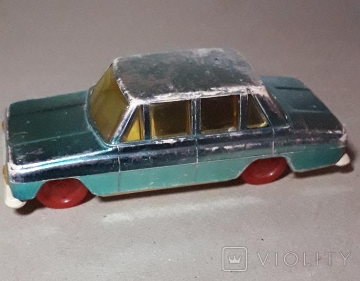 Москвич машинка инерционная 60-70-е СССР, фото №3