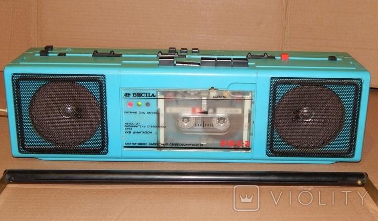 Весна М-310 С2 кассетный магнитофон, фото №3