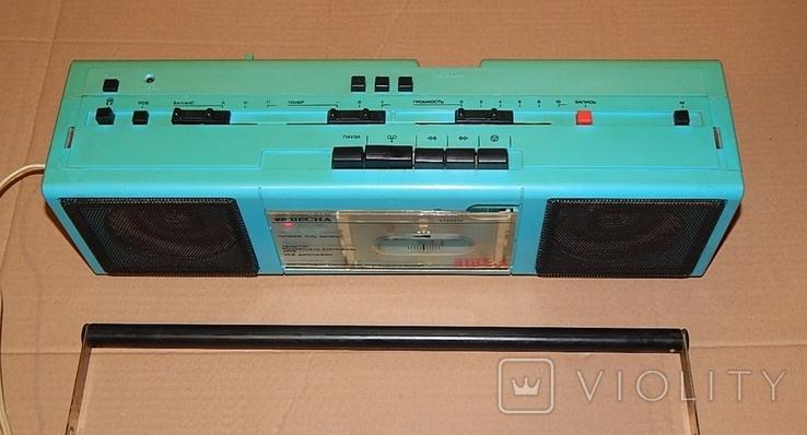 Весна М-310 С2 кассетный магнитофон, фото №4
