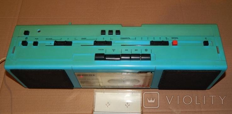 Весна М-310 С2 кассетный магнитофон, фото №5