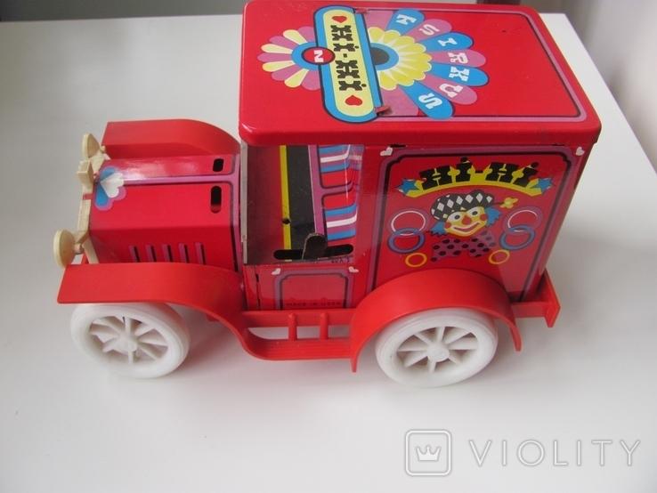 Машинка цирк, электромеханическая  Norma СССР, фото №3