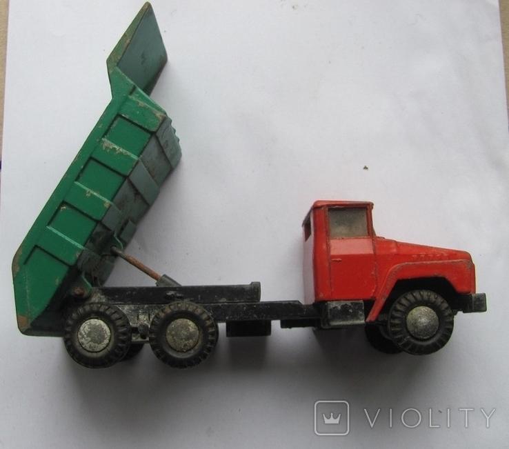 Машинка Краз СССР, фото №5