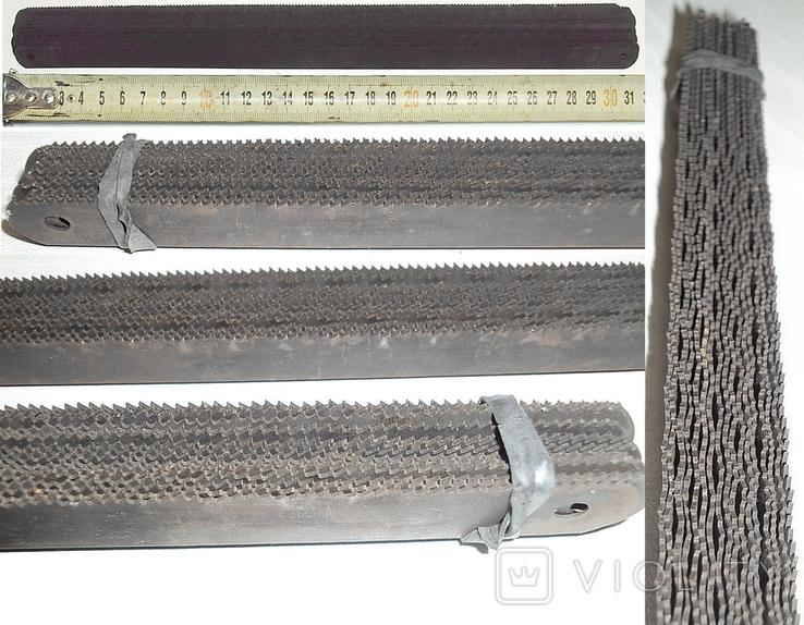 Полотна Тонкие-ножовочные новые по металлу 17-шт. для ручных пил из СССР, фото №3
