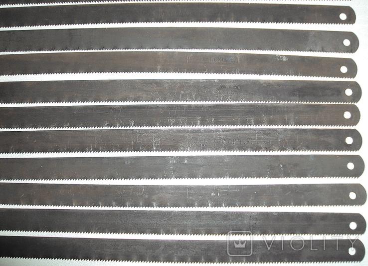 Полотна Тонкие-ножовочные новые по металлу 17-шт. для ручных пил из СССР, фото №12