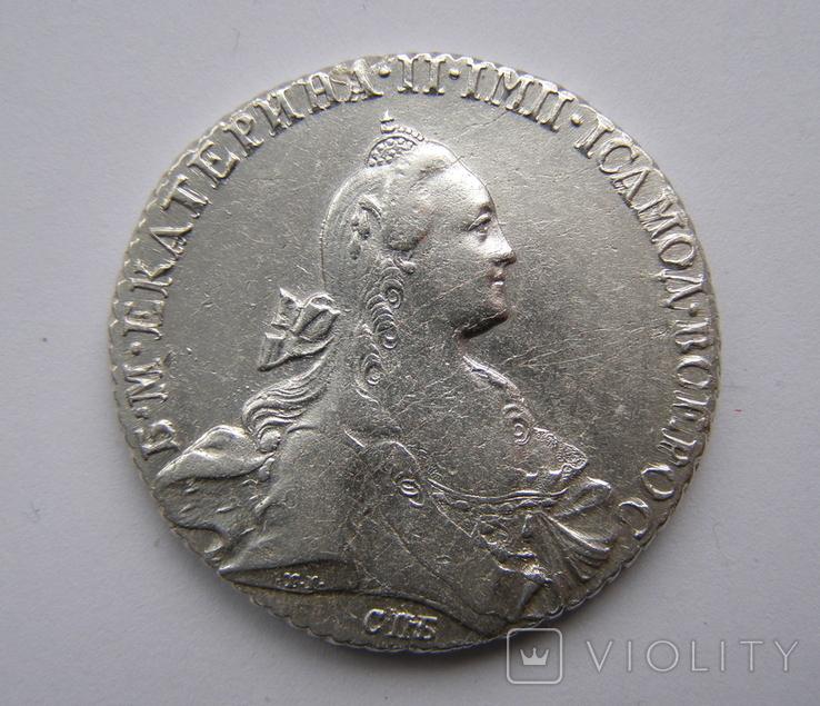 Рубль 1768 года, фото №2