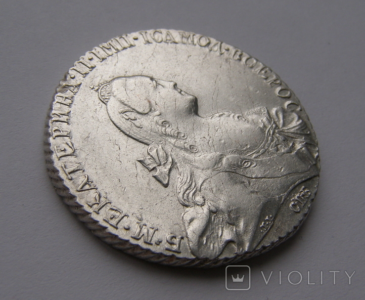 Рубль 1768 года, фото №7