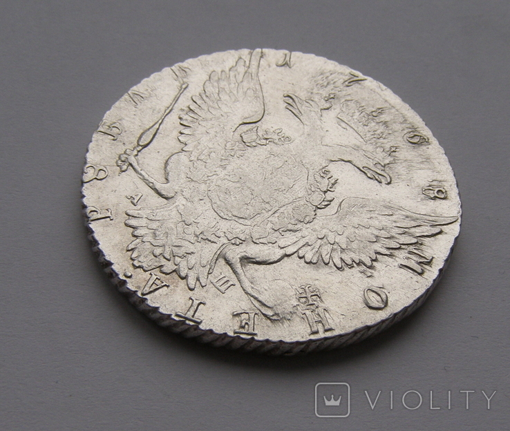 Рубль 1768 года, фото №8