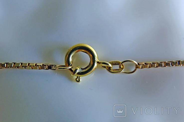 """Цепочка с подвеской """"Дева"""". Золото, бриллианты. Клейма., фото №7"""