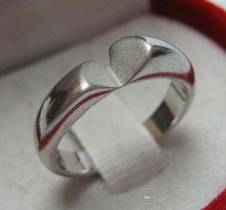 Серебряное Кольцо Размер 17.0 Серебро 925 проба 496, фото №2