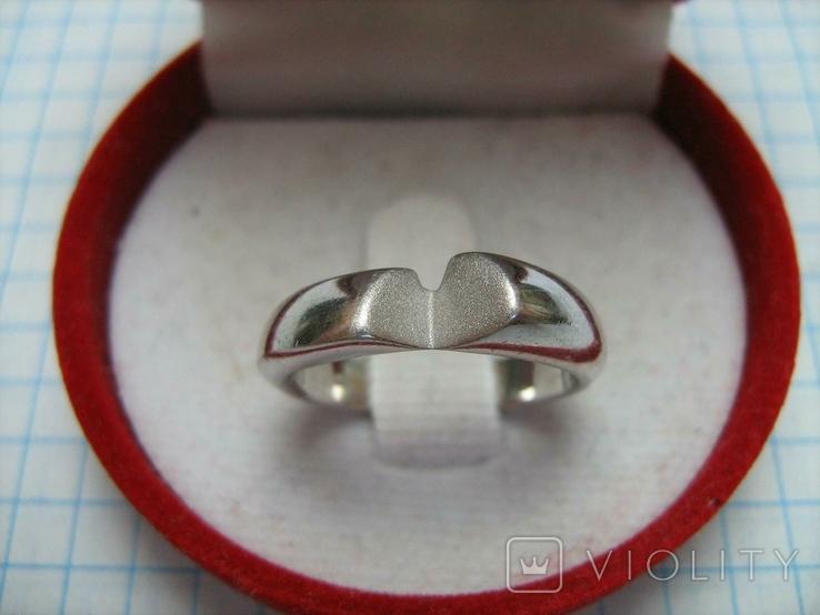 Серебряное Кольцо Размер 17.0 Серебро 925 проба 496, фото №3