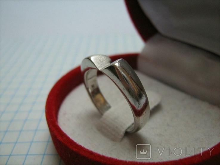 Серебряное Кольцо Размер 17.0 Серебро 925 проба 496, фото №4