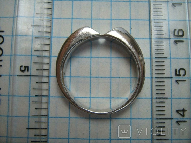 Серебряное Кольцо Размер 17.0 Серебро 925 проба 496, фото №5