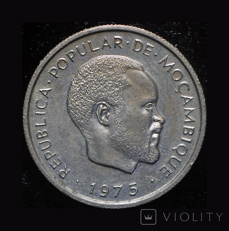 Мозамбик 20 сентавос 1975 редкая почти весь тираж уничтожен, фото №3
