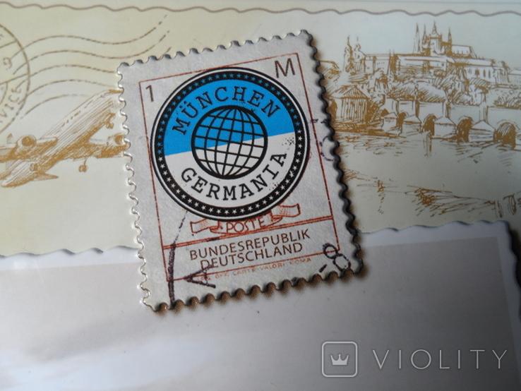 """Коробка конфетная """"Мюнхен"""", жесть. Без повреждений., фото №4"""