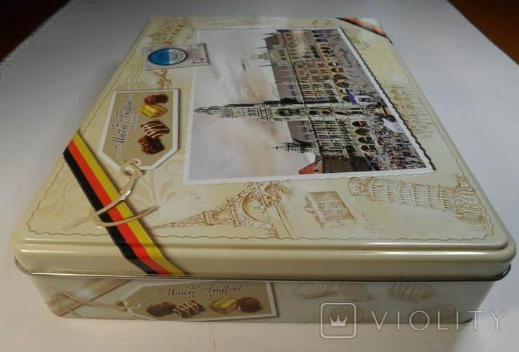 """Коробка конфетная """"Мюнхен"""", жесть. Без повреждений., фото №7"""