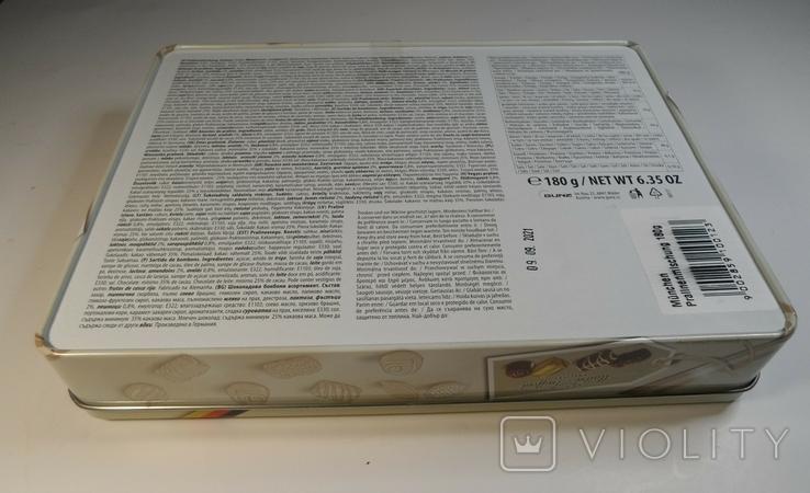"""Коробка конфетная """"Мюнхен"""", жесть. Без повреждений., фото №12"""