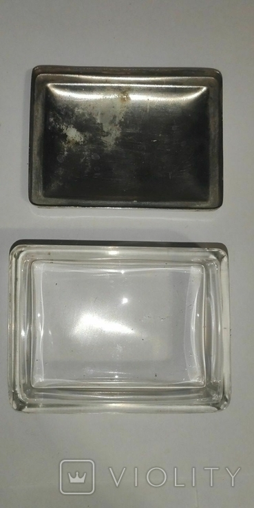 Стеклянная шкатулка, фото №4