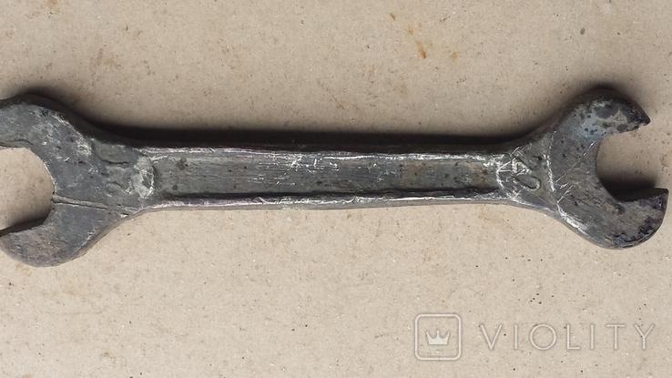 Ключ рожковий латунь., фото №2