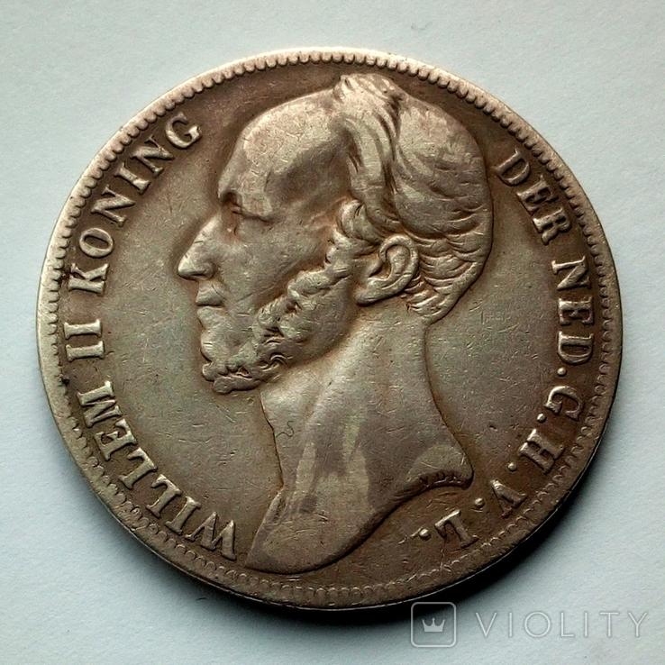 Нидерланды 1 гульден 1846 г. - Виллем II