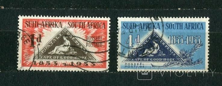 Британские колонии, Южная Африка, 1953 г. (полная серия), фото №2
