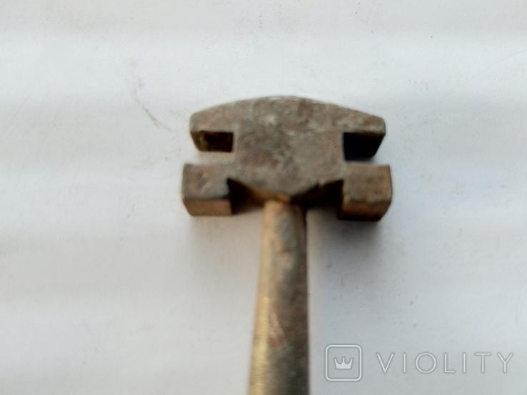 Старинный стеклорез с клеймами, фото №2