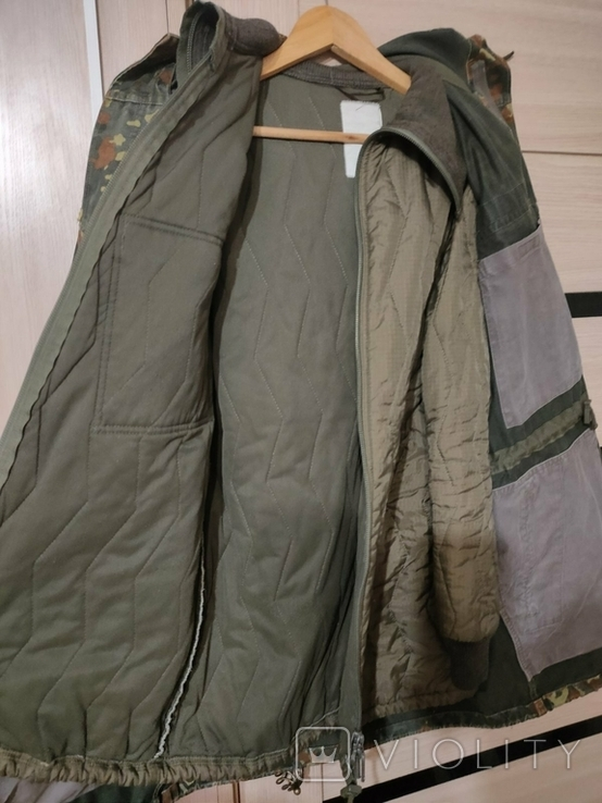 Бундесвер, оригинальная парка/куртка с зимней подстёжкой Флектарн Бундес, фото №6