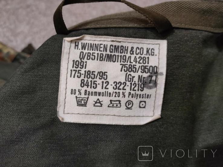 Бундесвер, оригинальная парка/куртка с зимней подстёжкой Флектарн Бундес, фото №8