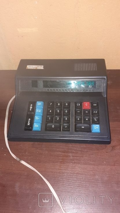 Электроника МК 59. Рабочий калькулятор, фото №8