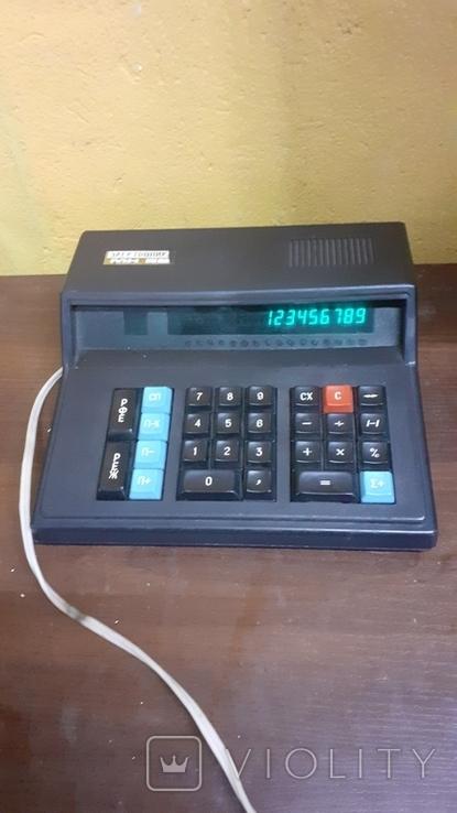 Электроника МК 59. Рабочий калькулятор, фото №2