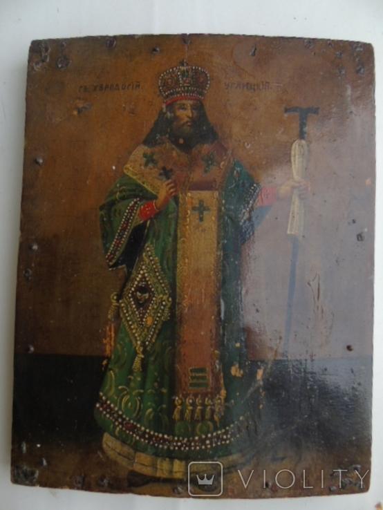 Икона Св. Феодосий Углицкий, фото №2
