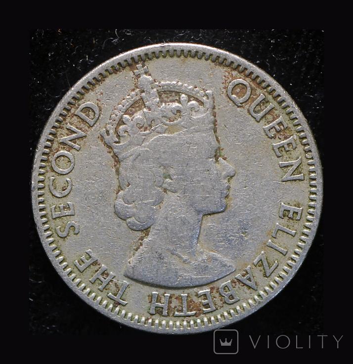 Британский Кипр 50 милс 1955, фото №2