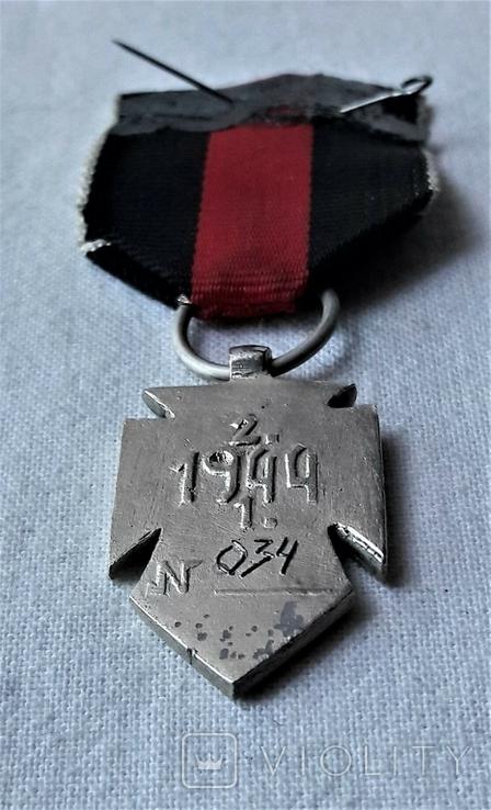 Серебряный Крест Заслуги УПА 1 клясу, реплика, №034, фото №5