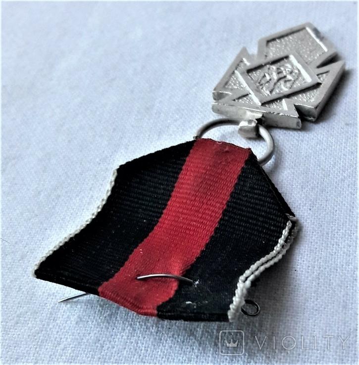 Серебряный Крест Заслуги УПА 1 клясу, реплика, №034, фото №9