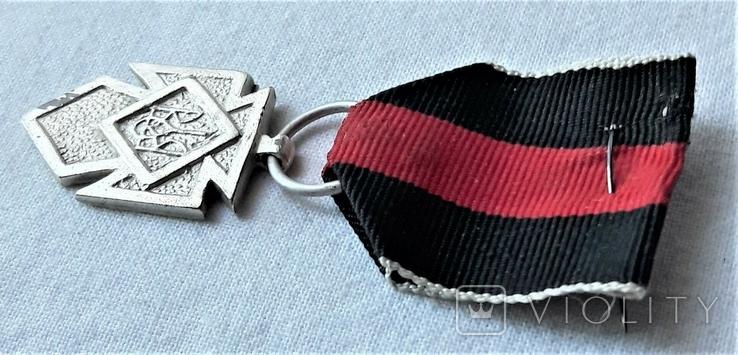 Серебряный Крест Заслуги УПА 1 клясу, реплика, №034, фото №10