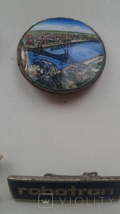 Знаки в тяжелом металле Венгрия старые .32 штуки, фото №8
