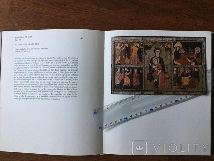 Книга по искусству 1978 год la pintura Espanola Венгрия, фото №3