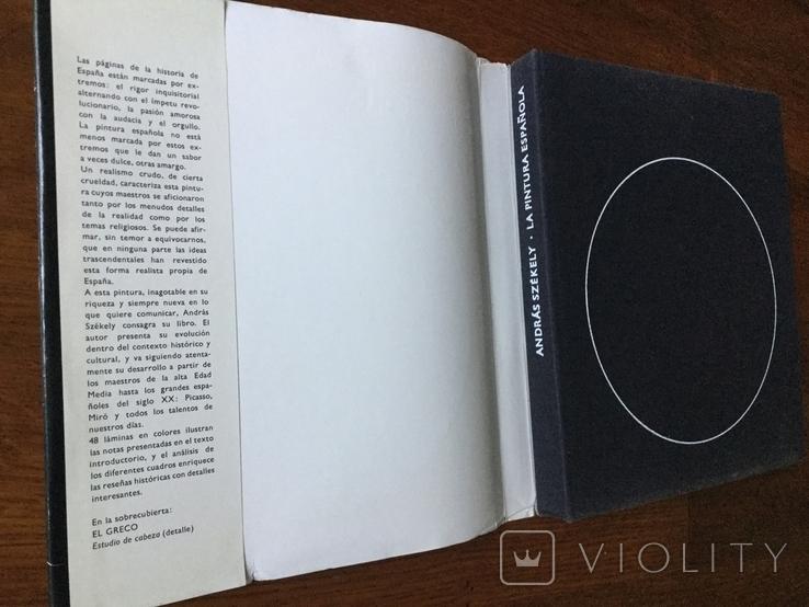 Книга по искусству 1978 год la pintura Espanola Венгрия, фото №5
