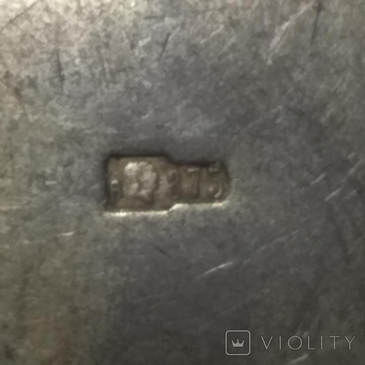 Кулон подвеска , серебро проба голова 875, фото №7