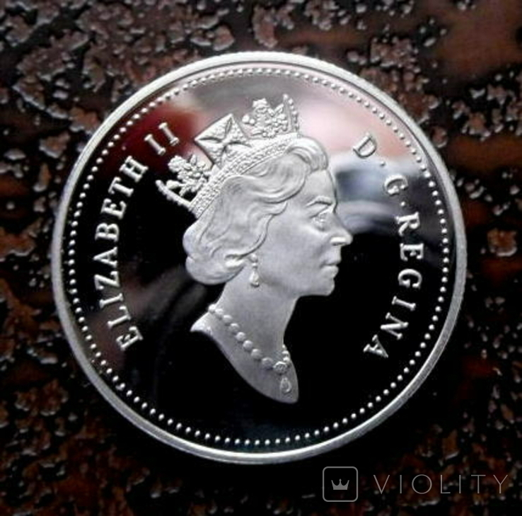 50 центов Канада 2000 серебро, фото №2