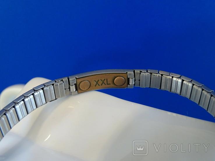 Магнитный браслет с медью. Мужской-женский. Европа., фото №3