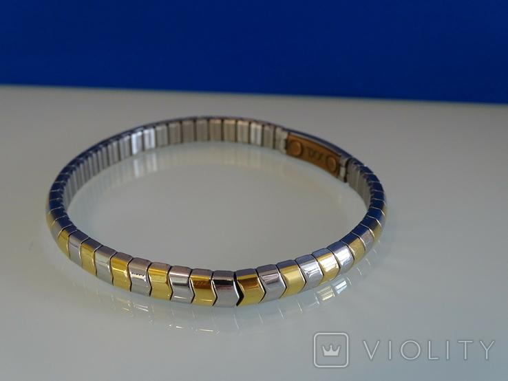 Магнитный браслет с медью. Мужской-женский. Европа., фото №5