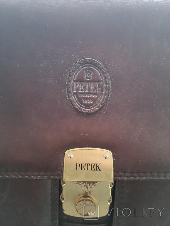 Портфель мужской Petek кожа, фото №9