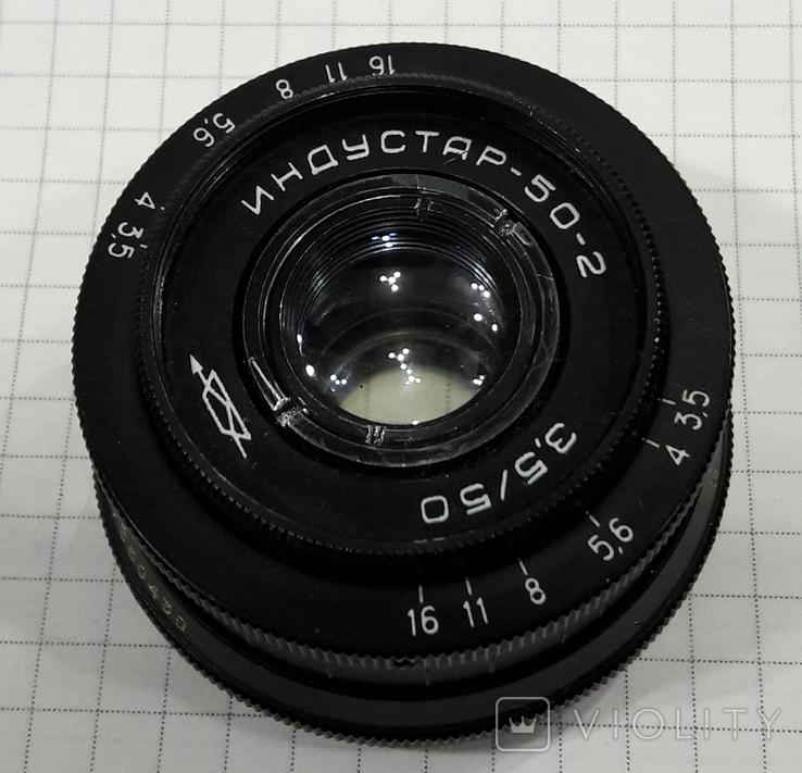 Объектив Индустар-50-2, фото №2