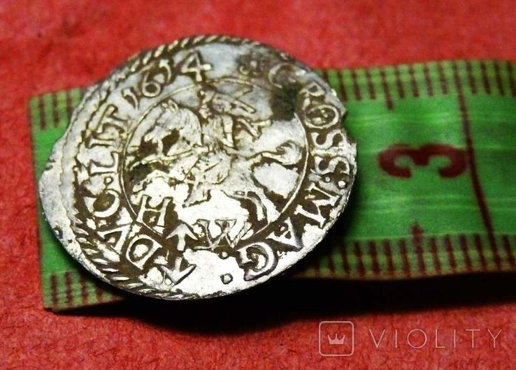 Литовский грош 1614 г., фото №8