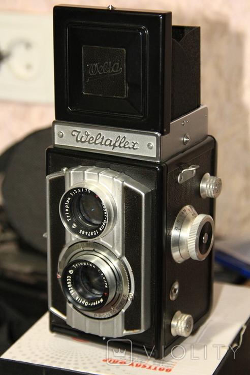 Фотокамера WELTA Weltaflex., фото №4