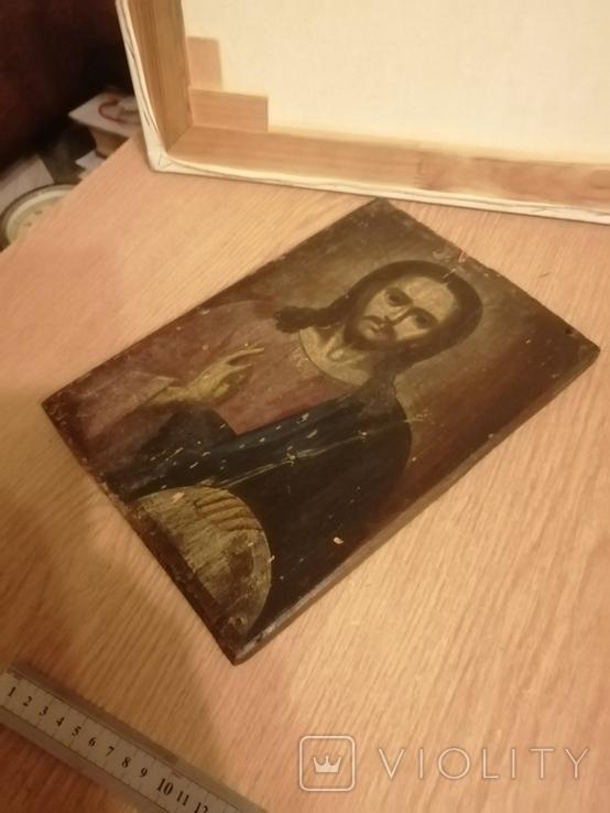 Икона старинькая, фото №4